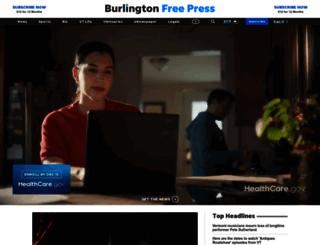 blogs.burlingtonfreepress.com screenshot