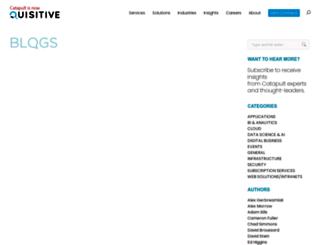 blogs.catapultsystems.com screenshot