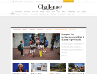 blogs.challenges.fr screenshot