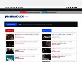 blogs.diariodepernambuco.com.br screenshot