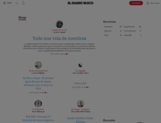 blogs.diariovasco.com screenshot