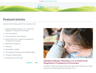 blogs.drgreene.com screenshot