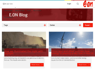 blogs.eon-uk.com screenshot