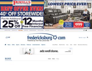 blogs.fredericksburg.com screenshot