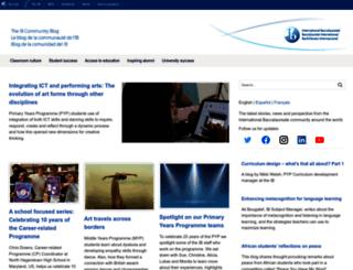 blogs.ibo.org screenshot