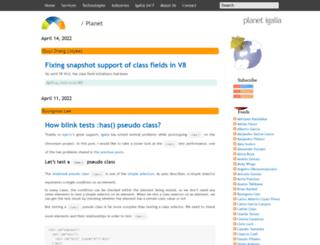 blogs.igalia.com screenshot