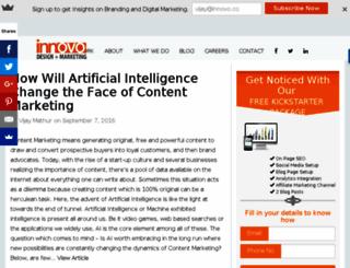blogs.innovo.co screenshot