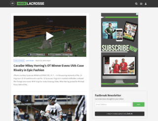 blogs.insidelacrosse.com screenshot
