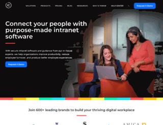 blogs.intranetconnections.com screenshot