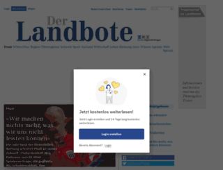 blogs.landbote.ch screenshot