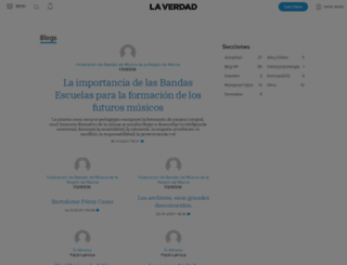 blogs.laverdad.es screenshot