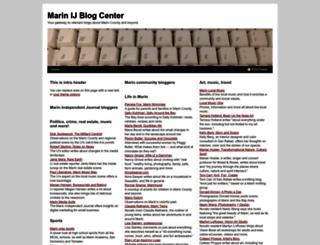 blogs.marinij.com screenshot