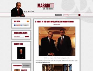 blogs.marriott.com screenshot