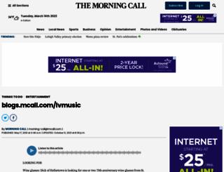 blogs.mcall.com screenshot