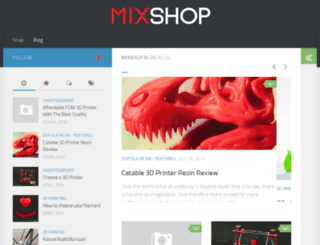blogs.mixshop.com screenshot