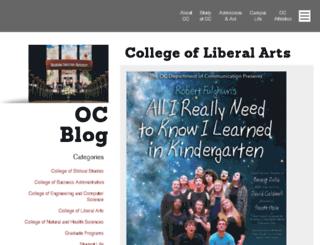 blogs.oc.edu screenshot