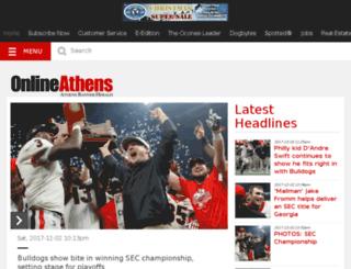 blogs.onlineathens.com screenshot