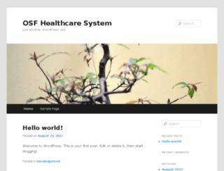 blogs.osfhealthcare.org screenshot