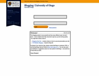 blogs.otago.ac.nz screenshot