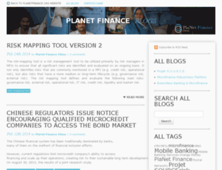 blogs.planetfinancegroup.org screenshot