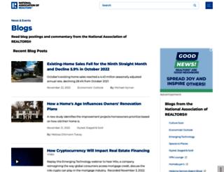 blogs.realtor.org screenshot