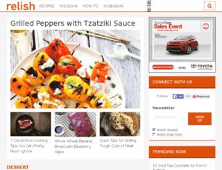 blogs.relish.com screenshot