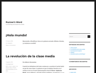 blogs.runners.es screenshot