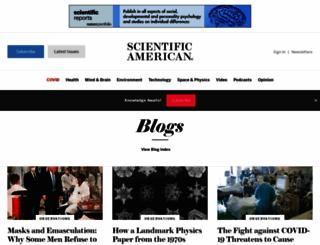 blogs.scientificamerican.com screenshot