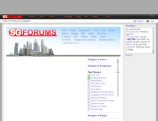 blogs.sgforums.com screenshot