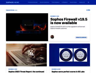 blogs.sophos.com screenshot