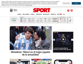 blogs.sport.es screenshot