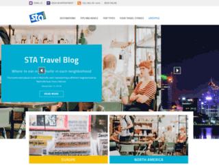 blogs.statravel.com screenshot