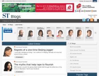 blogs.straitstimes.com screenshot