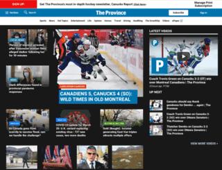 blogs.theprovince.com screenshot