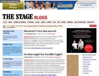 blogs.thestage.co.uk screenshot