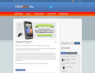 blogs.totalpda.co.uk screenshot