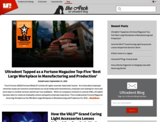 blogs.ultradent.com screenshot