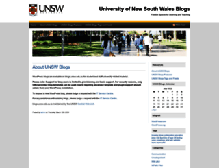 blogs.unsw.edu.au screenshot