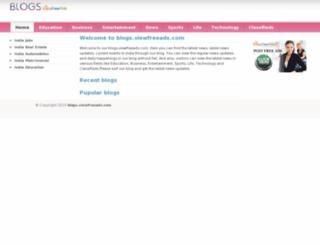 blogs.viewfreeads.com screenshot