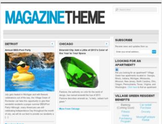 blogs.villagegreen.com screenshot