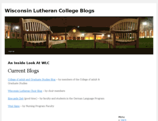 blogs.wlc.edu screenshot