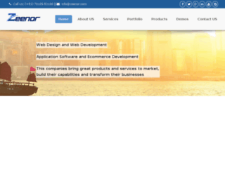 blogs.zeenor.com screenshot