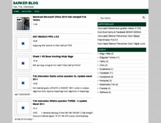 blogsarker.blogspot.com screenshot