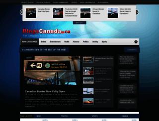 blogscanada.ca screenshot
