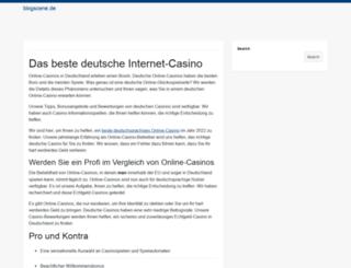 blogscene.de screenshot