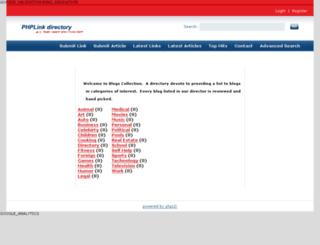 blogscollection.com screenshot