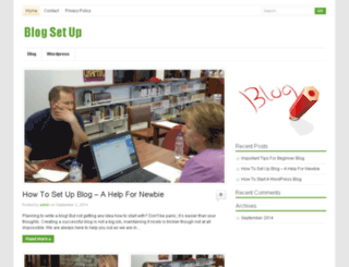 blogsetup.us screenshot