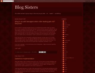 blogsisters.blogspot.com screenshot