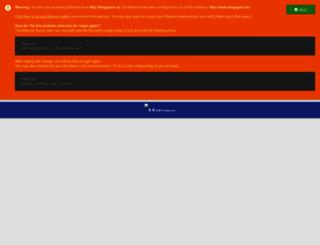 blogsport.at screenshot