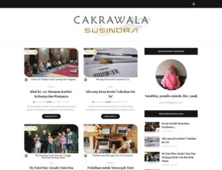 blogsusindra.blogspot.com screenshot